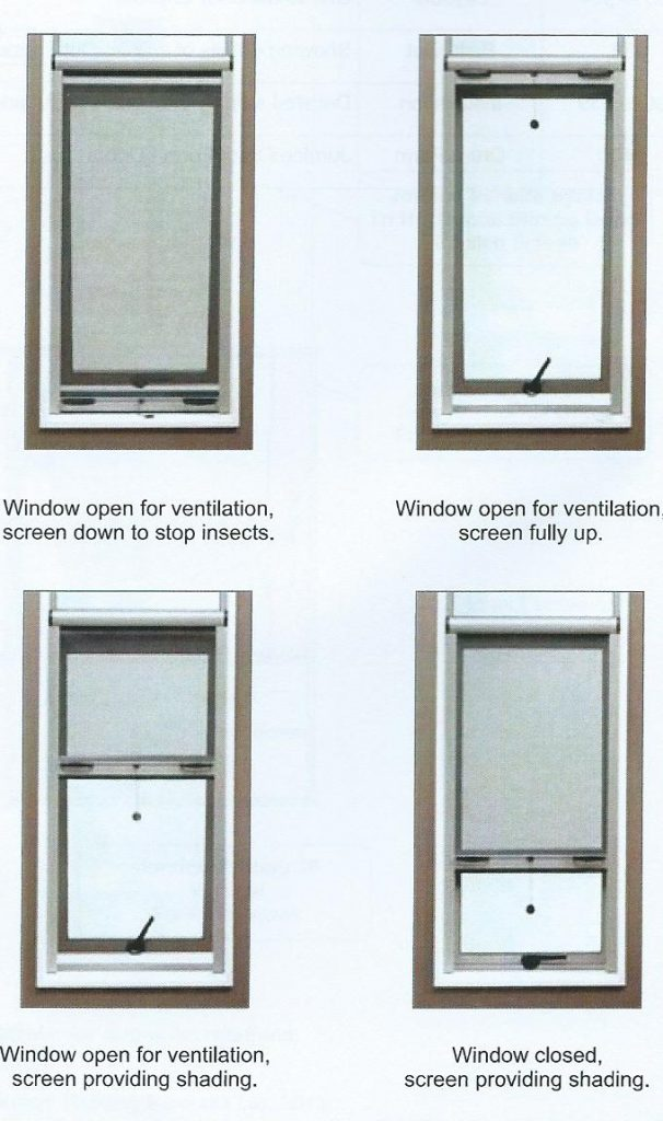 Awnings plus retractable fly screens for Retractable window fly screens